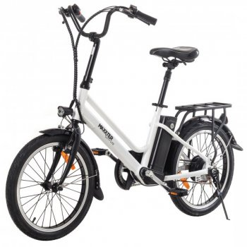 Електровелосипед Maxxter City Lite White