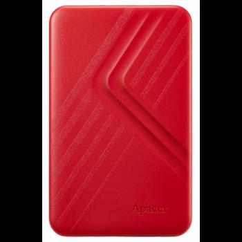 Зовнішній жорсткий диск для комп'ютера APACER AC236 2TB Червоний (AP2TBAC236R-1)