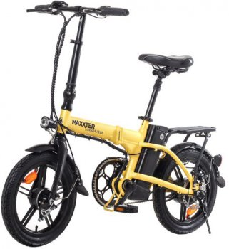 Электровелосипед Maxxter Urban Plus Yellow-Black