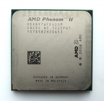 Процесор AMD Phenom II X4 B97 3,2 GHz sAM3 Tray 95w (HDXB97WFK4DGM) Deneb Б/У