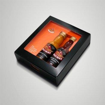 Набор соусов Вогняр Moruga Chocolate 40 мл + Habanero Yellow 40 мл (4820198340957)