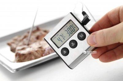 Термометр для продуктов Hendi электронный с таймером (271346)