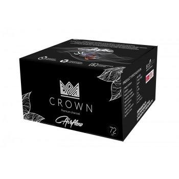 Вугілля кокосовий для кальяну Crown Airflow 72 шт