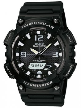 Часы CASIO AQ-S810W-1AVEF Collection Solar 46mm 10ATM