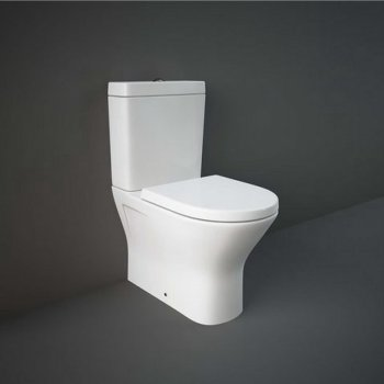 Унитаз Напольный Rak Ceramics Resort 60 См, Безободковый, Без Крышки, Белый Rst17Awha 118441