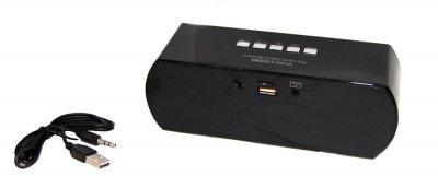 Портативна bluetooth колонка MP3 плеєр WS-Y69 Red (1001 006659)