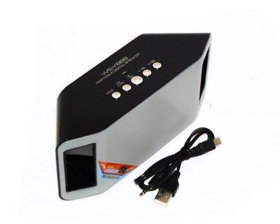 Портативна bluetooth колонка MP3 плеєр WS-Y66 Blue (1001 006655)