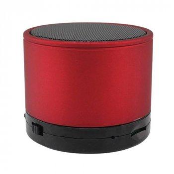 Портативна bluetooth колонка HLD-600 MP3 плеєр S-10U Red (1001 005797)