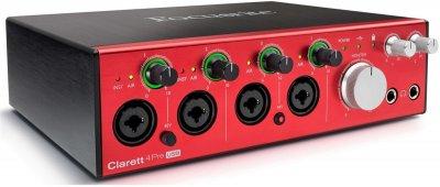 Аудіоінтерфейс Focusrite Clarett 4Pre USB (226751)