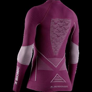 Термобілизна X-Bionic Energy Accumulator 4.0 Shirt Round Neck LG SL WMN колір V005 (EA-WT0