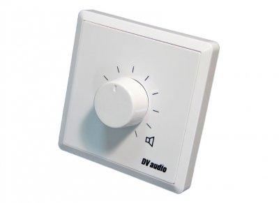 Регулятор громкости для акустических систем DV audio 100W 100V белый (P-100)
