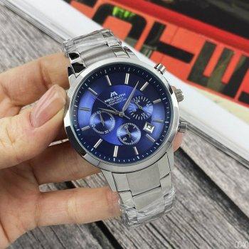 Годинники чоловічі Megalith 8043M Silver-Blue