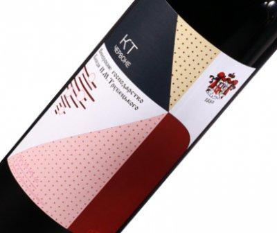 Вино Князь Трубецький КТ червоне ординарне сухе 0.75 л 11-14% (4820149500539)