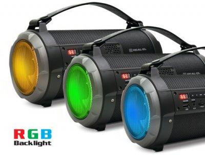 Акустическая система Real-El X-720 Black (EL121600001)