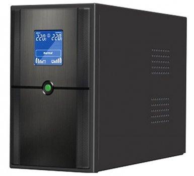 ДБЖ FrimeCom SL-1KL, Line Int., AVR, 2 x євро, LCD, метал (під зовнішньої. АКБ, з правильною синусоїдою)