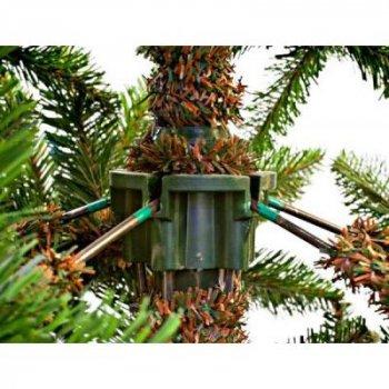 Искусственная сосна Triumph Tree зеленая с эффектом инея и шишками, 1,85 м (8718861280340)