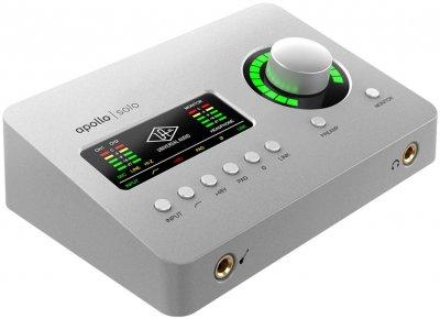 Аудіоінтерфейс Universal Audio Apollo Solo Heritage Edition (Desktop/Mac/Win/TB3) (Desktop/Win) (230981)