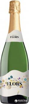 Вино игристое Cami de Flors Cava Semi Seco белое полусухое 0.75 л 11.5% (8410644611678)