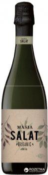 Вино игристое Masia Salat Organic Cava Brut белое сухое 0.75 л 11.5% (8410644210161)