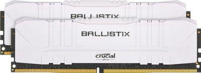 Оперативна пам'ять Crucial DDR4-3200 65536MB PC4-25600 (Kit of 2x32768) Ballistix White (BL2K32G32C16U4W)