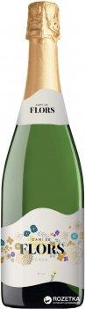 Вино игристое Cami de Flors Cava Brut белое сухое 0.75 л 11.5% (8410644611609)