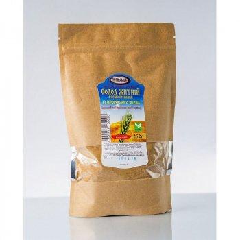 Солод житній з пророслого зерна, пакет 250 г Мак-Вар Екопродукт