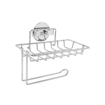 Тримач туалетного паперу AWD металевий хром (11770745)