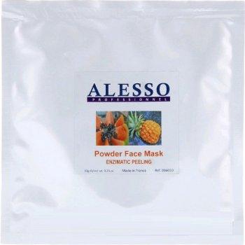 Альгинатная порошковая маска ALESSO Enzymatic Peeling Энзимный пилинг для чувствительной кожи 10гр