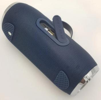 Портативна Bluetooth колонка Hopestar H40, темно-синя
