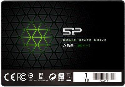 Твердотільний накопичувач Silicon Power A56 1Tb SATA3 2.5' TLC 560/530 MB/s (SP001TBSS3A56A25)