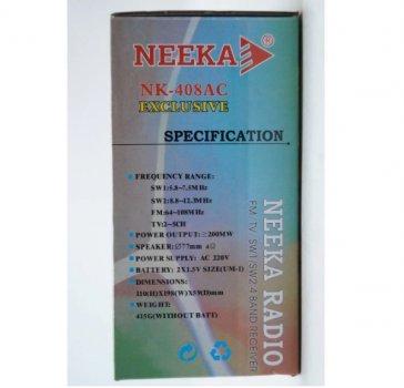 Радиоприемник Neeka NK-409, 471272573