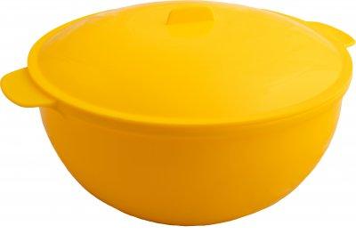 Супниця похідна з термостійкого пластика GT Plat багаторазова для гарячих страв з кришкою 3 л (GTP-Y010)