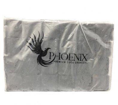 Уголь для кальянов кокосовый Phoenix 10 кг пластик