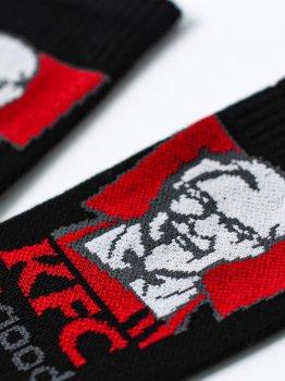 Мужские носки LOMM Premium KFC чёрные, пар LOMM BLM 0113ч чёрный