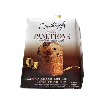 Паска Santagelo Mini Panettone Cioccolato 100 г.