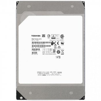 "HDD внутрішній TOSHIBA 3.5"" Server 14TB SATA III-600, 256MB 7200rpm"