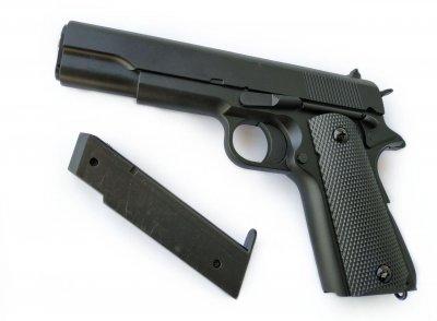 Іграшковий пістолет на пульках металевий дитячий CYMA ZM19 / ЗМ 19