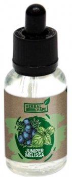 Рідина для електронних сигарет Herbal Vape Juniper Melissa 0 мг 30 мл (Ялівець + меліса) (HV-JM-30)