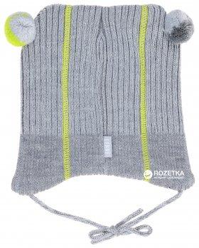 Зимняя шапка с завязками Lenne Reed 18374/370 46 см Серая (4741578206192)