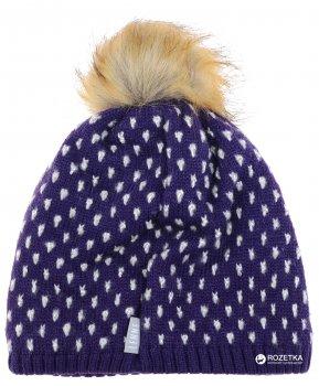 Зимняя шапка Lenne Mona 18391A/612 52 см Темно-фиолетовая (4741578251673)