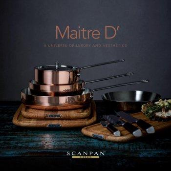Сковорода-сотейник з ручкою Scanpan Maitre D, 16 см (77101600)