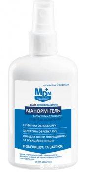 Засіб дезінфікувальний MDM Манорм-гель 100 мл (4820180110117)