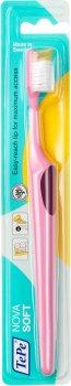 Зубная щетка TePe Nova Soft Розовая (312620) (7317400000831)