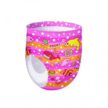 Трусики-подгузники для плавания Goo.N для девочек XL 12-20 кг 12 шт (853668) (4902011856682)