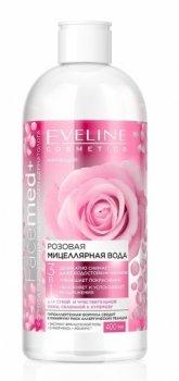 Міцелярна вода Eveline Cosmetics Рожева Міцелярна Вода 3в1 FACEMED+ 400 мл