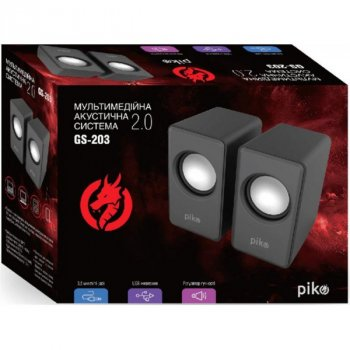 Акустична система Piko GS-203 Black (1283126489440)