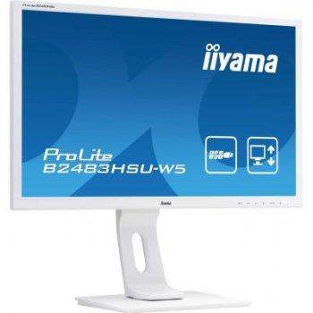 Монитор iiyama B2483HSU-W5