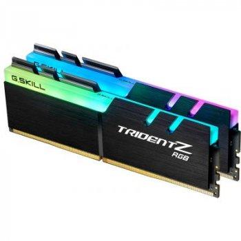 Модуль памяти для компьютера DDR4 16GB (2x8GB) 4400 MHz Trident Z RGB G.Skill (F4-4400C18D-16GTZR)