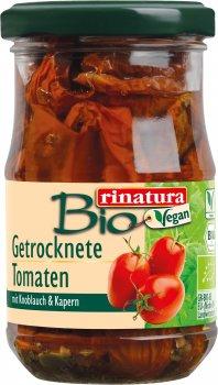Вяленые томаты в масле Rinatura органические 180 г (4013200259372)