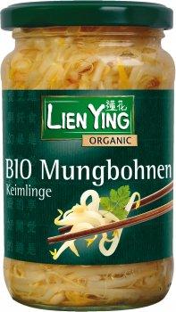 Ростки фасоли мунг Lien Ying органические 330 г (4013200888947)